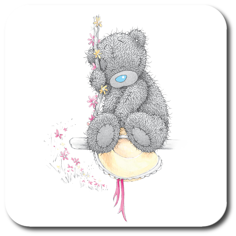 me to you tatty teddy on a swing print2impress